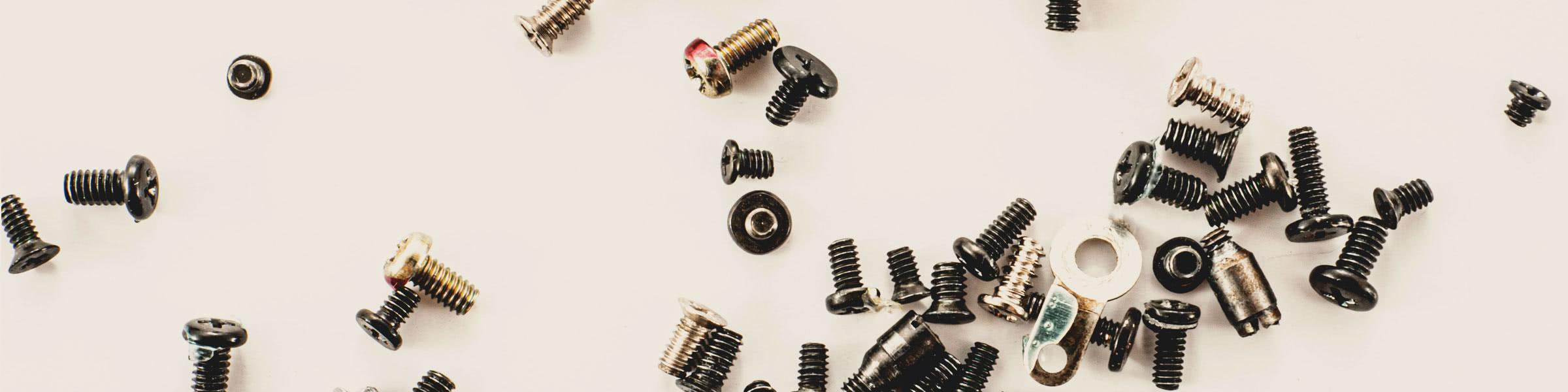 Screws & Rivets Screws, rivets, washers…