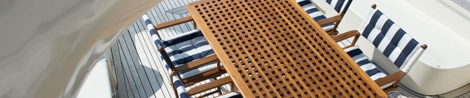 Ein exotisches Holz Teak Einrichtung