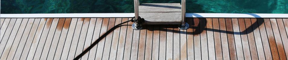 Teak-Care How to take care of your teak deck!
