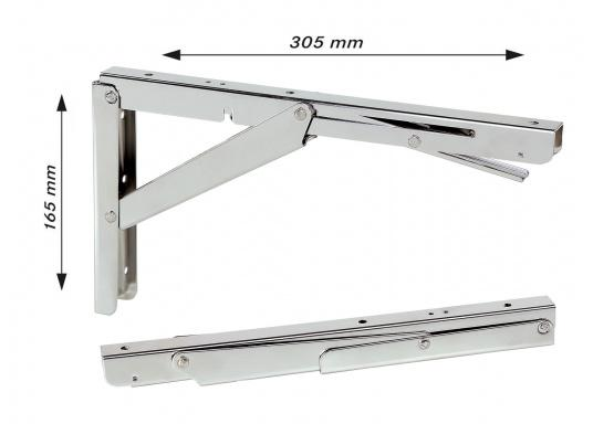 Awesome With These Foldable Stainless Steel Hinges For Tables Or ...