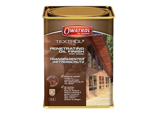 """TEXTROL penetrates and protects the wood tone. Non-film forming, it will not crack, peel or flake. Suitable for all&nbsp&#x3B;exterior&nbsp&#x3B;wood&nbsp&#x3B;surfaces, soft or hardwood."""""""
