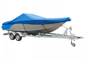 Image of Motor Boat Cover / blue
