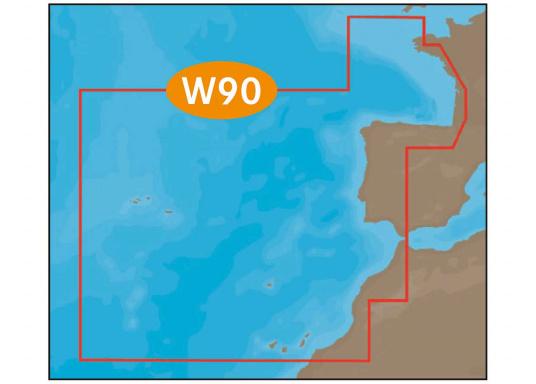 "C-MAP MAX West European Coasts W90"""