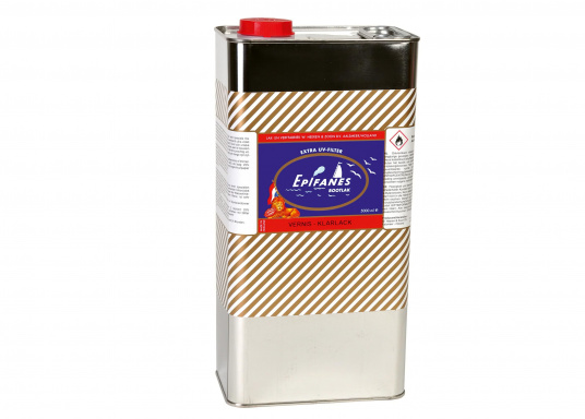 Di fama mondiale, lucida, monocomponente, estremamente resistente agli agenti atmosferici, ottima fluidità. Contiene un filtro UV che protegge il legno contro lo scolorimento. Adatta per interni ed esterni al di sopra della linea di galleggiamento e per le zone di acqua dolce e salata. (Immagine 2 di 2)