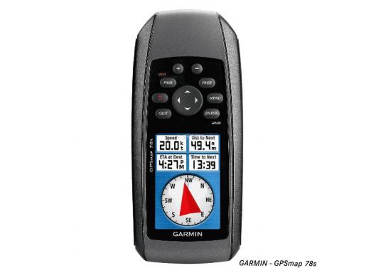 <div>Robustes und schwimmfähiges GPSmap, ideal für alle Bootsführer und Wassersportfans. Das Gerät bietet: einen 3-Achsen-Kompass mit einem barometrischen Höhenmesser, ein helles Farbdisplay, einen Empfänger mit hoher Empfangsempfindlichkeit.</div>  (Bild 2 of 8)