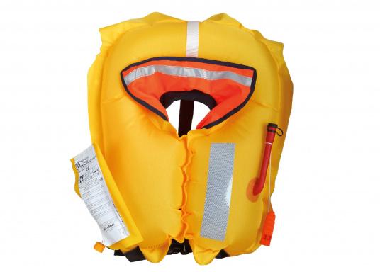 La coupe et le poids de ce gilet en font un équipement idéal pour l'aviron, le kayak et tout autre sport nautique pratiqué en eaux intérieures et espaces côtiers protégés. 100 N. Pour utilisateur à partir de 50 Kg (Image 8 de 10)