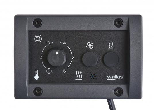 Diesel heater with the best power utilisation in its class. The Wallas 22 Dt has an extremely low power consumption and thus can also be used on boats with smaller battery capacities.     (Image 4 of 6)
