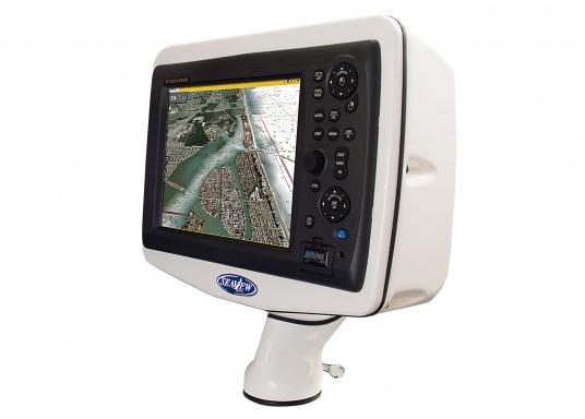 """For easy installation on deck! These practical deck pods in a handy &quot&#x3B;uncut&quot&#x3B; version are ideal suited for chart plotters and radar displays on sailing and motor boats. Available in three sizes."""""""