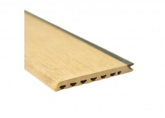<div>Elegant und technisch hochwertig! Der flexible Teakoptik Deckbelag kann auf Kunststoff-, Stahl- und Holzoberflächen eingesetzt werden. Er ist langlebig, vollständig UV-stabilisiert und besonders rutschfest.</div>  (Bild 2 of 60)