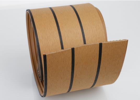 <div>Elegant und technisch hochwertig! Der flexible Teakoptik Deckbelag kann auf Kunststoff-, Stahl- und Holzoberflächen eingesetzt werden. Er ist langlebig, vollständig UV-stabilisiert und besonders rutschfest.</div>  (Bild 33 of 60)