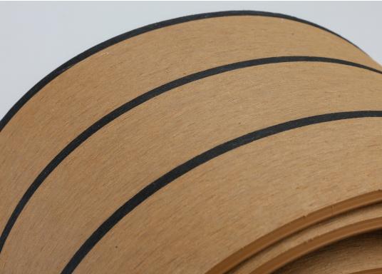 <div>Elegant und technisch hochwertig! Der flexible Teakoptik Deckbelag kann auf Kunststoff-, Stahl- und Holzoberflächen eingesetzt werden. Er ist langlebig, vollständig UV-stabilisiert und besonders rutschfest.</div>  (Bild 36 of 60)