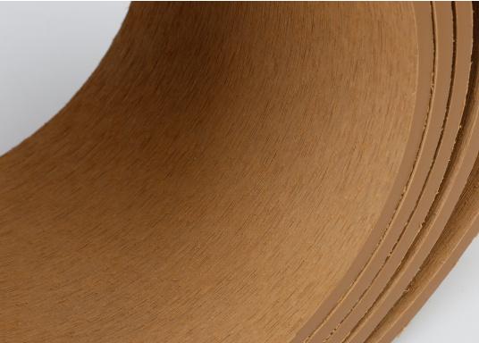 <div>Elegant und technisch hochwertig! Der flexible Teakoptik Deckbelag kann auf Kunststoff-, Stahl- und Holzoberflächen eingesetzt werden. Er ist langlebig, vollständig UV-stabilisiert und besonders rutschfest.</div>  (Bild 37 of 60)