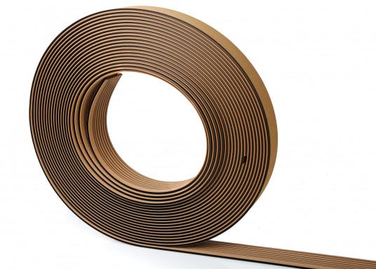 <div>Elegant und technisch hochwertig! Der flexible Teakoptik Deckbelag kann auf Kunststoff-, Stahl- und Holzoberflächen eingesetzt werden. Er ist langlebig, vollständig UV-stabilisiert und besonders rutschfest.</div>  (Bild 45 of 60)