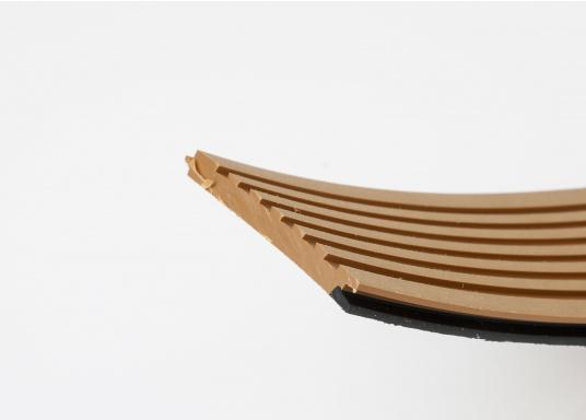 <div>Elegant und technisch hochwertig! Der flexible Teakoptik Deckbelag kann auf Kunststoff-, Stahl- und Holzoberflächen eingesetzt werden. Er ist langlebig, vollständig UV-stabilisiert und besonders rutschfest.</div>  (Bild 55 of 60)