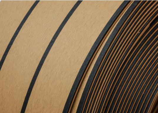 <div>Elegant und technisch hochwertig! Der flexible Teakoptik Deckbelag kann auf Kunststoff-, Stahl- und Holzoberflächen eingesetzt werden. Er ist langlebig, vollständig UV-stabilisiert und besonders rutschfest.</div>  (Bild 56 of 60)