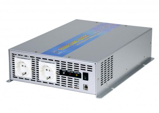 <div> These compact pure sine wave power inverters generate a clean sine wave voltage. They are ideal for audio and video equipment as well as for computers. Several models available.</div> (Image 3 of 3)