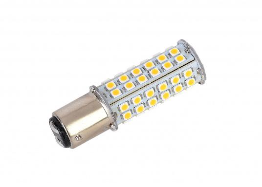 """Extreme Helligkeit – dieser High-Power LED-Einsatz mit 60extrem hellen Leuchtdioden ist für den Einsatz in Positionsleuchten geeignet. Eine integrierte Elektronik ermöglicht die Erkennung der Polarität."""""""