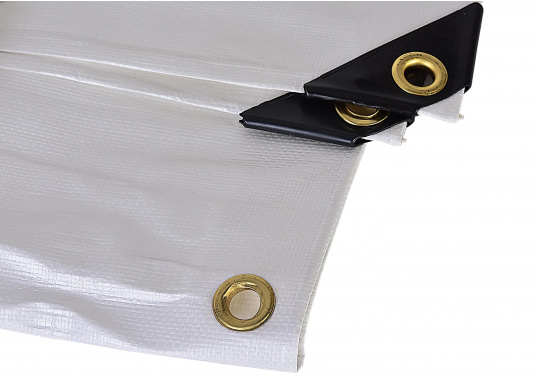 <div> Extreme stability! This cover protects your boat during winter storage. Also suitable to cover objects at home, in the yard or garden etc.Weight: 250 g/m².</div> (Image 2 of 4)