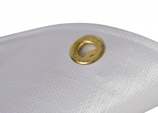 <div> Extreme stability! This cover protects your boat during winter storage. Also suitable to cover objects at home, in the yard or garden etc.Weight: 250 g/m².</div> (Image 3 of 4)