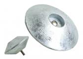 Image of Zinc Double Anodes, round Shape