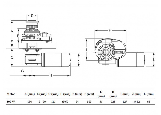 <div>Perfect base model!The project 500 / X1 reaches with the new designed high torque electric motor a continuous power of 500 watts and up to 700 watts for a short period.</div>  (Imagen 3 of 3)