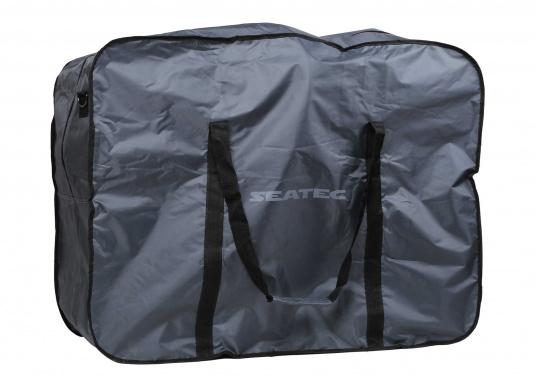 """Robuste Packtasche, perfekt geeignet für dasSEATEC - Elektro-Klapprad. Mit großem Reißverschluss und praktischen Tragegriffen."""""""