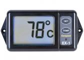 Bild von Abgas-Temperaturanzeige mit Alarm