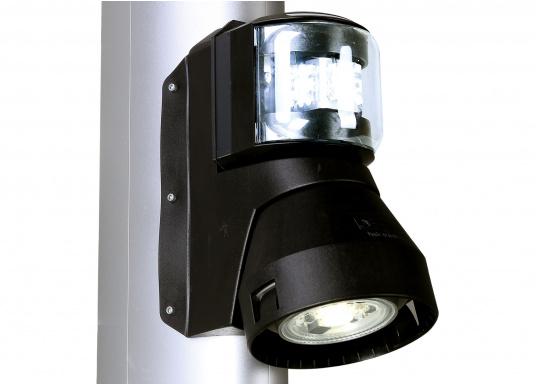Eine bewährte Kombination von aqua signal. Einfache Montage. Geeignetfür Fahrzeuge bis 20 m Länge.  (Bild 5 von 6)