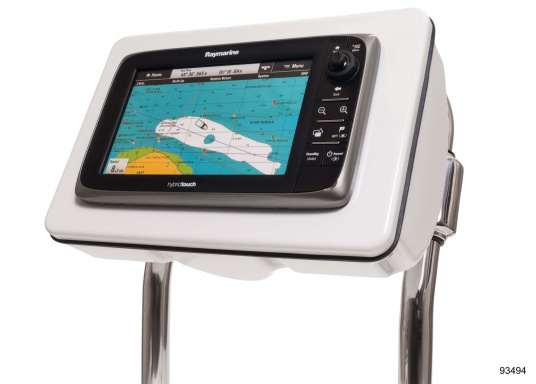 """SPOD device holders bySEAVIEW for almost all chartplotters and instruments. Available in 5 different sizes. Fit for most steering pedestals / control columns made by Jefa, Whitlock and Edson."""""""