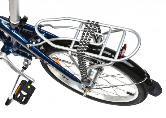 """Léger et solide ! Le vélo pliant alu SEATEC 20"""" est prêt en quelques secondes. Le cadre aluminium, le guidon réglable en hauteur, la selle et le dérailleur 3 vitesses en font une bicyclette agréable.  (Image 4 de 10)"""