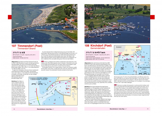 Kompakter, übersichtlicher und praktischer wurde die deutsche Ostseeküste noch nicht beschrieben. Natur- und Yachthäfen werden mit Luftaufnahmen, Hafenplänen und informativen Texten kompakt und übersichtlich vorgestellt. Zweisprachig: deutsch und englisch. (Bild 4 von 5)