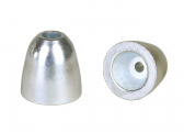 Image of Zinc anode - hat shape / conical