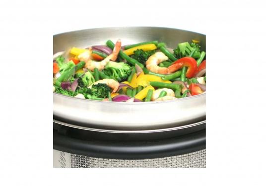 <div> Per preparare gustosi piatti asiatici, sughi per pasta, popcorn e tanto altro ancora! Il wok può essere utilizzato in modo ottimale per il Cobb Barbecue EASY TO GO /PREMIER.</div> (Immagine 5 di 6)