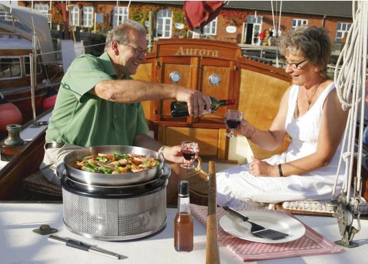 <div> Per preparare gustosi piatti asiatici, sughi per pasta, popcorn e tanto altro ancora! Il wok può essere utilizzato in modo ottimale per il Cobb Barbecue EASY TO GO /PREMIER.</div> (Immagine 4 di 6)