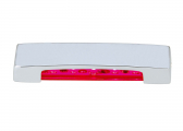 Image of LED Step Lamp ARENDA, red