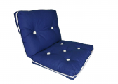 Imágen de Kapok Double Cushion / royal blue