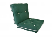Imágen de Kapok Double Cushion / dark green