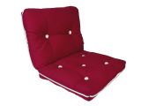 Imágen de Kapok Double Cushion / bordeaux red