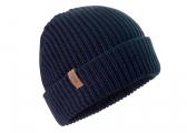 Voir Bonnet tricoté / bleu marine