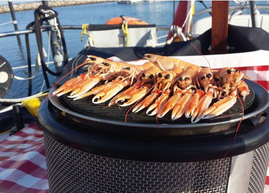 <div> Wollen Sie einfach schnell Würstchen, Steaks, Fisch oder Gemüse an Bord oder unterwegs grillen? Dann ist der EASY TO GO Grill von COBB genau richtig!</div> (Bild 9 of 11)