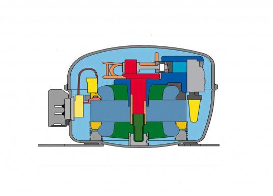 Die Kompressor-Kühl- und Gefrierbox, die mehr leistet als erwartet! Variable Temperatureinstellung von +10°C bis -10°C, schnelles Erreichen der Solltemperatur, anwenderfreundliches Bedienpanel, digitale Temperaturanzeige.  (Bild 7 von 8)