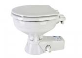 Voir WC marins QUIET FLUSH / cuvette compacte / pompe eau de mer