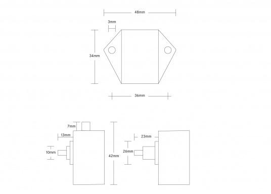 <div>Originales Druckschloss Midi für Ihre Yacht von BAVARIA.</div>  (Bild 4 of 4)