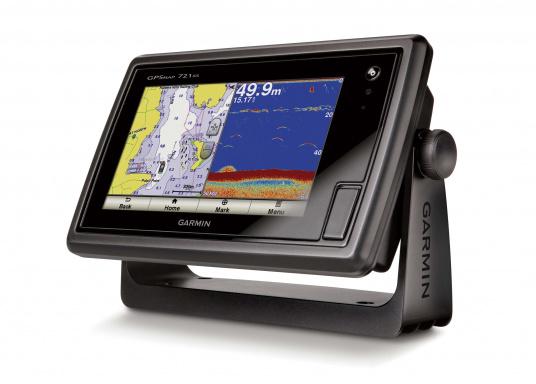 Das GPSMAP 721xs-Kombigerät aus Kartenplotter und Echolot ist bei Tag und bei Nacht problemlos abzulesen.  (Bild 6 von 7)