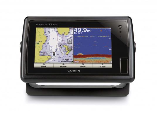 Das GPSMAP 721xs-Kombigerät aus Kartenplotter und Echolot ist bei Tag und bei Nacht problemlos abzulesen.  (Bild 3 von 7)