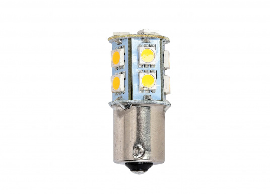 LED light insert with 13 bright diodes which provide a comfortable, warm-white light color.""
