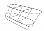 Image of Stainless Steel Fender Basket, diagonal / 3-sections