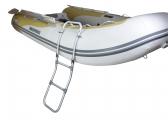 Voir Échelle de bain pliante pour annexe / aluminium / 3 échelons