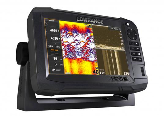 """Le TOUT NOUVEAU Lowrance High Definition System (HDS), associe un meilleur afficheur tactile Multi-Touch avec un processeur optimisé, doté d&#39&#x3B;une technologie avancée pour la détection de poissons."""""""