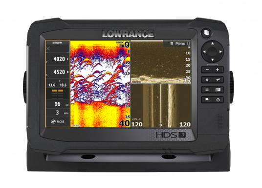 """Le tout NOUVEAU Lowrance High Definition System (HDS), associe un meilleur afficheur à écran tactile avec un processeur optimisé, doté d&#39&#x3B;une technologie avancée pour la détection de poissons,"""""""